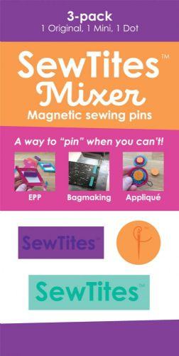 SewTites Mixer, Magnetic Sewing Pins, 3 pack , STMIX3